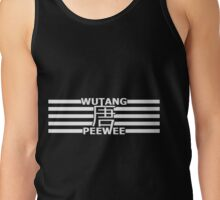 Wutang Peewee lines Tank Top