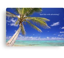 Advertising spoil3 Canvas Print