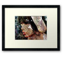 Summer's Face Framed Print