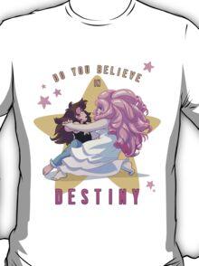 "Greg Universe & Rose Quartz Dancing from Steven Universe ""Destiny"" version T-Shirt"