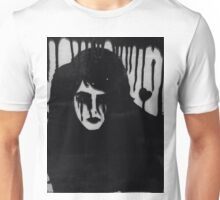 Ink on glass Depressed woman  Unisex T-Shirt