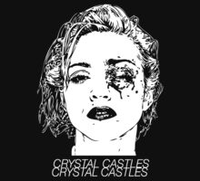 Crystal Castles (Black) by Julia Abernethy