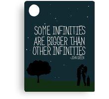 Some Infinities Canvas Print