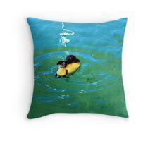 fairy penguin Throw Pillow