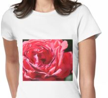 Country Rose Womens Fitted T-Shirt