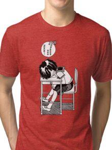 Nazo no Kanojo X (Mysterious Girlfriend X) Sleeping Urabe Tri-blend T-Shirt