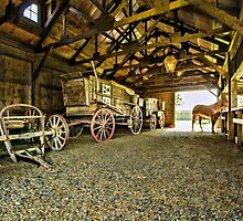 He`s In The Barn by JohnDSmith