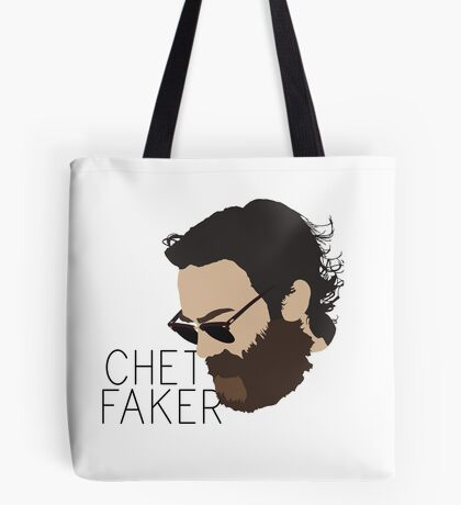 Chet Faker - Minimalistic Print Tote Bag