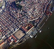 Lisbon from Above  2             Portugal by BaZZuKa