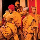 Nepalese Monks by 945ontwerp