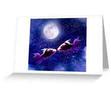 Lover's Moon Greeting Card