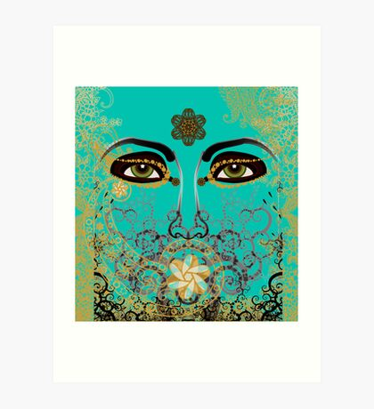 The Eyes of Time Art Print