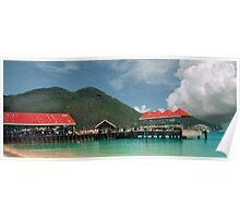 St, Maarten, Philipsburg, docks Poster