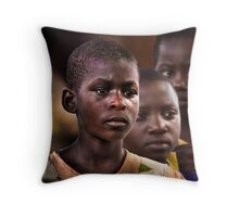 3 Farmers' Daughters Throw Pillow