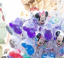 Mickey Balloons by dreamsthatglow