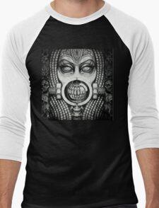 Giger inspired Diva Men's Baseball ¾ T-Shirt