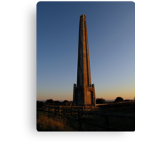 Admiral Lord Nelson's Monument - Portsdown Hill 01 Canvas Print