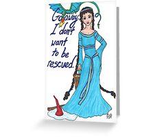 Princess Cimorene Greeting Card
