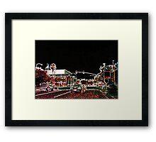 Tampa Nightlights Framed Print