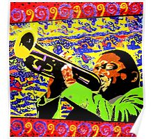 Wynton Marsalis plays Louis Armstrong Poster