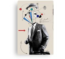 the business man Canvas Print