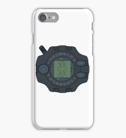 Digimon digivice Reliability iPhone Case/Skin