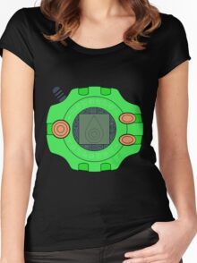 Digimon digivice Sincerity Women's Fitted Scoop T-Shirt