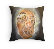 WHOSE THERE...WHOSE AT MY DOOR? Throw Pillow