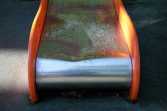 Aire de jeux réservée aux enfants - Playground for children (1) by Pascale Baud