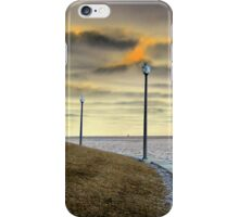 Dueling Lampposts iPhone Case/Skin