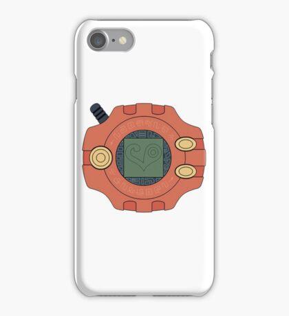 Digimon digivice Love iPhone Case/Skin
