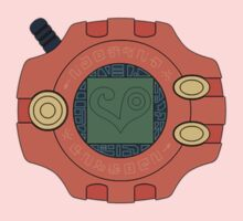 Digimon digivice Love Kids Tee