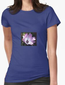 Swinging Along - Cute Cape Daisy Womens Fitted T-Shirt