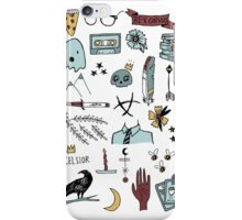 trc doodles iPhone Case/Skin