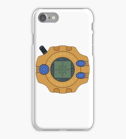 Digimon digivice Courage iPhone Case/Skin