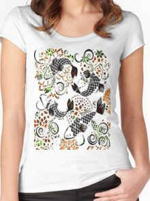 Jewelry Koi Women's Fitted Scoop T-Shirt