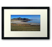 Summer Antelope Island Framed Print