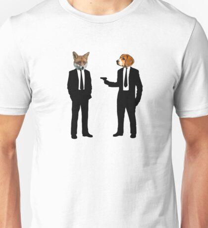 Beagle Killed Fox Unisex T-Shirt