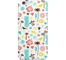Hawaiian Pattern iPhone Case/Skin