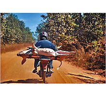 Heavy transport Photographic Print