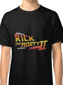 Rick and Morty Season 2 - BTTF Logo Classic T-Shirt
