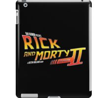 Rick and Morty Season 2 - BTTF Logo iPad Case/Skin