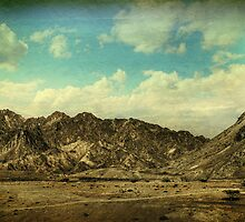 fujairah mountains by sunith shyam