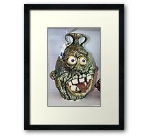Funny Pottery Framed Print
