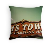 Sam's Town Throw Pillow