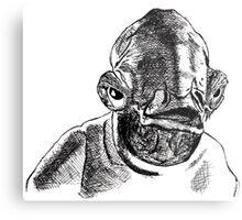 Admiral Ackbar (It's A Trap!) Metal Print