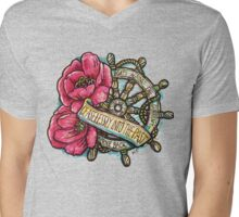 Ceaselessly Into the Past Mens V-Neck T-Shirt