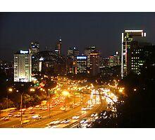 City Rush Hour Photographic Print