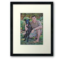 Jason & Aries Framed Print