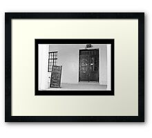 Precise and fleeting  Framed Print